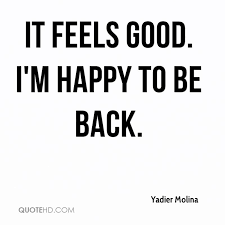 Yadier Molina Quotes QuoteHD Impressive Im Happy Quotes