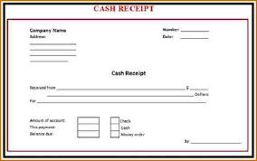 Cash Receipt Forms Cash Receipts Template Word Rome Fontanacountryinn Com