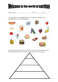 Free Nutrition Worksheets Free Worksheets Library | Download and ...
