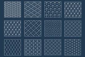 Sashiko Patterns Enchanting Sashiko Embroidery Japanese Running Stitch TREASURIE