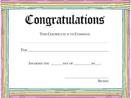 Kids Award Certificate Dance Award Certificate Template Blank Certificate For Kids Award