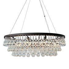 oil rubbed bronze crystal chandelier glass drop mini chandeliers
