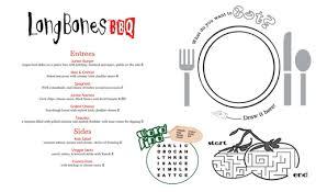 pages menu template kids menu kid menu designs kid menu templates musthavemenus