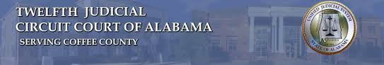 Get your team aligned with. Coffee County Twelfth Circuit Court Of Alabama