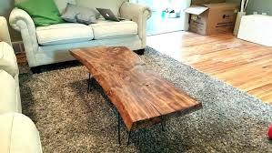 raw edge dining table raw edge table live edge table live edge coffee table lovely walnut