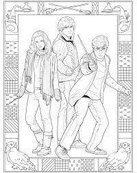 Small Picture 93 best Coloring Pages Harry Potter images on Pinterest Harry