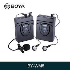 UHF Беспроводной двухканальный Lavalier <b>микрофон BOYA</b> BY ...