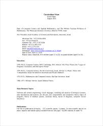 Computer Science Resume Template - 8+ Free Word, Pdf Documents ...