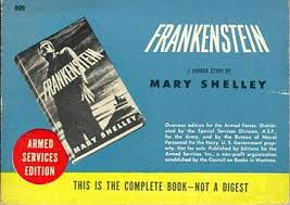 from 1953 a modern for the time look at frankenstein s creation published by lion