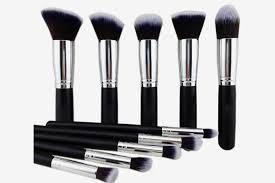 the best wood handle makeup brush set
