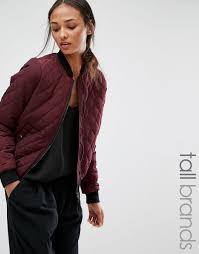 vero moda tall quilted er jacket decadent chocolate women jackets bester vero moda usa hot
