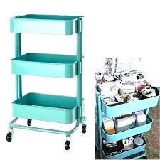 craft storage cart carts on wheels target outdoor mobile