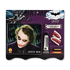 makeup kits for girls at walmart. joker make-up kit and wig costume accessories makeup kits for girls at walmart