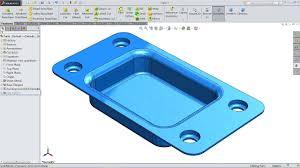 Sheet Metal Bracket Design Guidelines Solidworks Sheet Metal Tutorial Forming Tool
