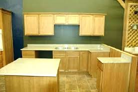unfinished solid wood kitchen cabinet