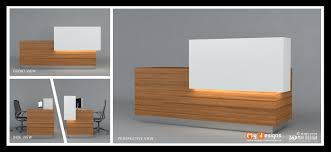 Reception Table Design | Office Interior Designs in Dubai - Interior  Designer In Uae