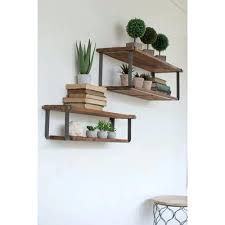 wood and metal shelves wooden shelves metal brackets wood metal wall shelf