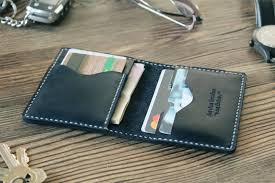 credit card wallet mens wallet graduation gift for him personalized wallet card case womens gift leather wallet card case minimalist wallet