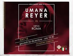Umana Reyer – Virtus Roma: info biglietti