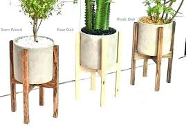 inside plant stand indoor stands pot mid century modern with cement outdoor canada inside plant stand hanger stands indoor pots