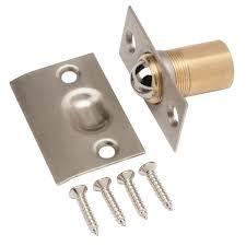 door latch types. everbilt satin nickel latch adjustable ball catch door types d
