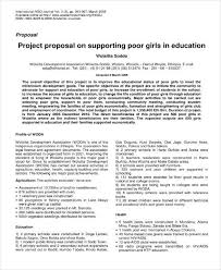 9+ Education Project Proposal Templates - Pdf | Free & Premium Templates