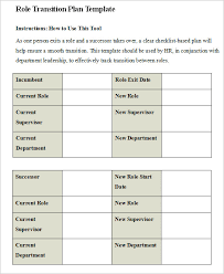 Free 7 Transition Plan In Samples Examples Format