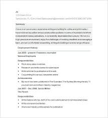 Write A Resume Unique 28 Writer Resume Templates DOC PDF Free Premium Templates
