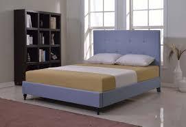 Baxton Studio Colchester Light Beige Linen Modern Platform Bed Linen Platform Bed