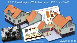 Maybe you would like to learn more about one of these? Wohnhaus Mit Nebenbau Und Sgraffito Fassade Haus Stoll Bastelbogen Im Massstab 1 220