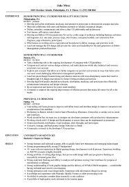 Principal Ux Designer Resume Samples Velvet Jobs