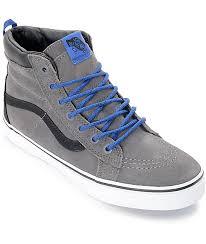 vans shoes for boys. vans sk8-hi mte tornado \u0026 blue boys skate shoes for n