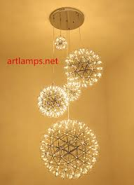 led custom made chandeliers led colourful decoration pendant chandelier lamp 1