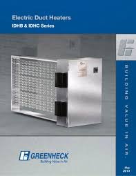 models idhc and idhb greenheck pdf catalogue technical models idhc and idhb 1 8 pages