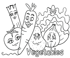 Fruits And Vegetables Coloring Pages Coloring Pages Fruits And