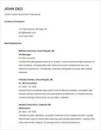 Basic Resume Samples Techtrontechnologies Com