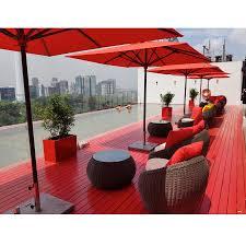 Jalan furniture Teak Z008 Red By Sirocco Jalan Kamunting Ewin Ee Tabula Rasa Sun Loungers Outdoor Furniture