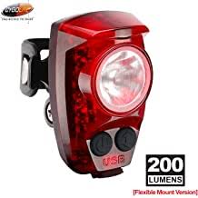 Cygolite Streak Rechargeable <b>Bicycle Headlight</b> & <b>Tail Light</b> Combo ...