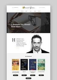 best wordpress themes for writers and authors  wordpress author theme blog for writers bookstore