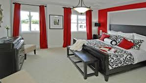 red bedroom color palette. handsome gray black and red bedroom color scheme 60 love to cool paint ideas for bedrooms with palette