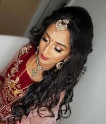 1 3 my beautiful bride shaji from yesterday textured curls and glam make up