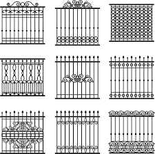 metal fence designs. Amazing Decoration Metal Fence Designs Beautiful How To Increase Your  Curb Appeal With Custom Iron Fencing Metal Fence Designs .
