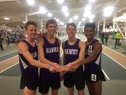 """HSHS Track & Field on Twitter: """" [State Qualifiers *and* New School Record]  Congrats to Jackson McIntyre, Adam Kanning, Wesley Ferguson & Dexter Hill  on their 1st place, 8:19.18 4x800m race at the Wake County Invitational  today!… https://t.co ..."""