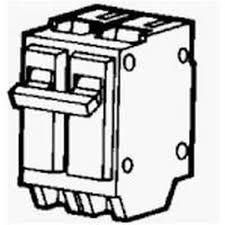 single pole vs double pole circuit breaker hunker Double Pole Circuit Breaker Wiring Diagram a double pole circuit breaker from www hardwareandtools com Basic Electrical Wiring Breaker Box