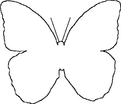Butterfly Stencil Printable Templates For Powerpoint 2018