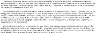 what are the advantages and disadvantages of television in conclusion there are both advantages and disadvantages of watching television although children are