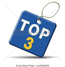 Image result for clipart for top three