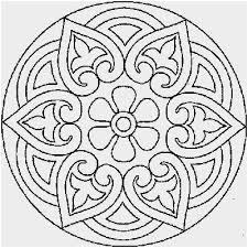 Snowflake Mandala Coloring Pages Beautiful Snowflake Patterns To