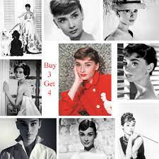 Audrey Hepburn Poster Movie Wall ...