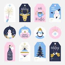 Printable Holiday Gift Tags Stock Images Page Everypixel